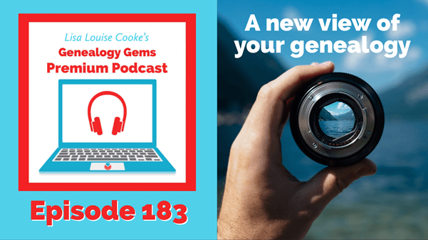 Genealogy Gems Premium Podcast episode 183