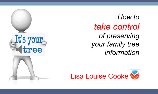 Take control of your family tree and genealogy
