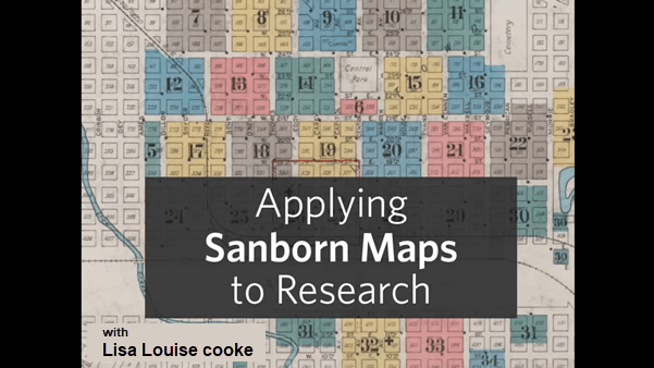 applying sanborn fire maps