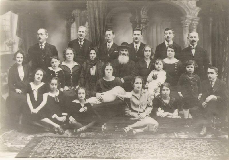 Singer Family – 1920, Czernowitz, Ukraine