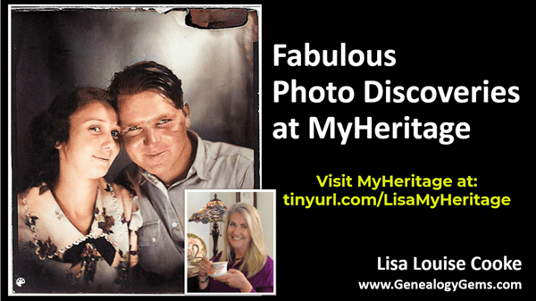 Photo Discoveries at MyHeritage
