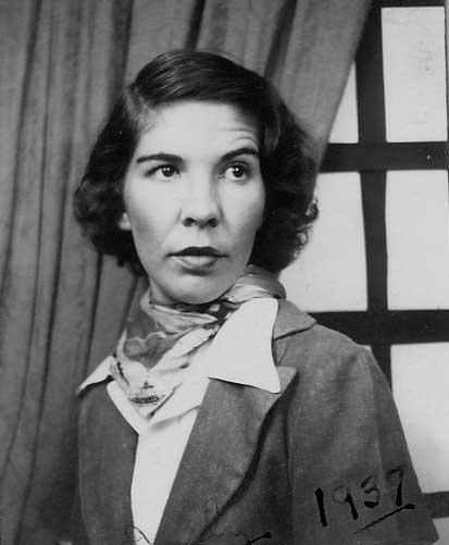 Aunt Bea in 1937