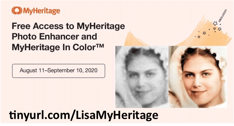 Click to use MyHeritage for free for a imited time.