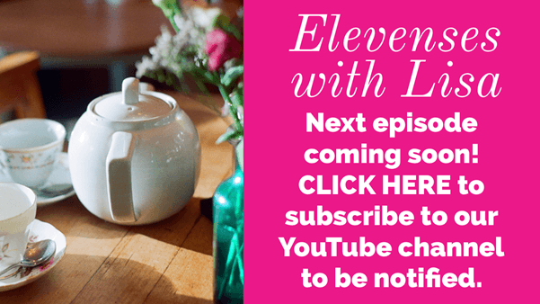 Elevenses with Lisa YouTube Live Show Coming Soon