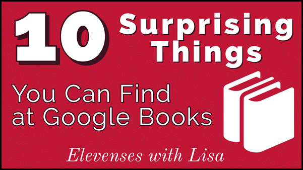 10 surprising things to find at Google Books