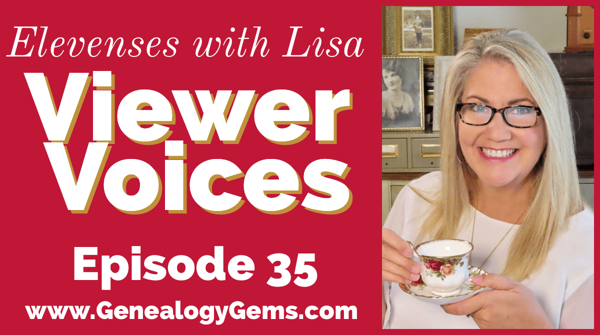 Episode 35 Elevenses with Lisa