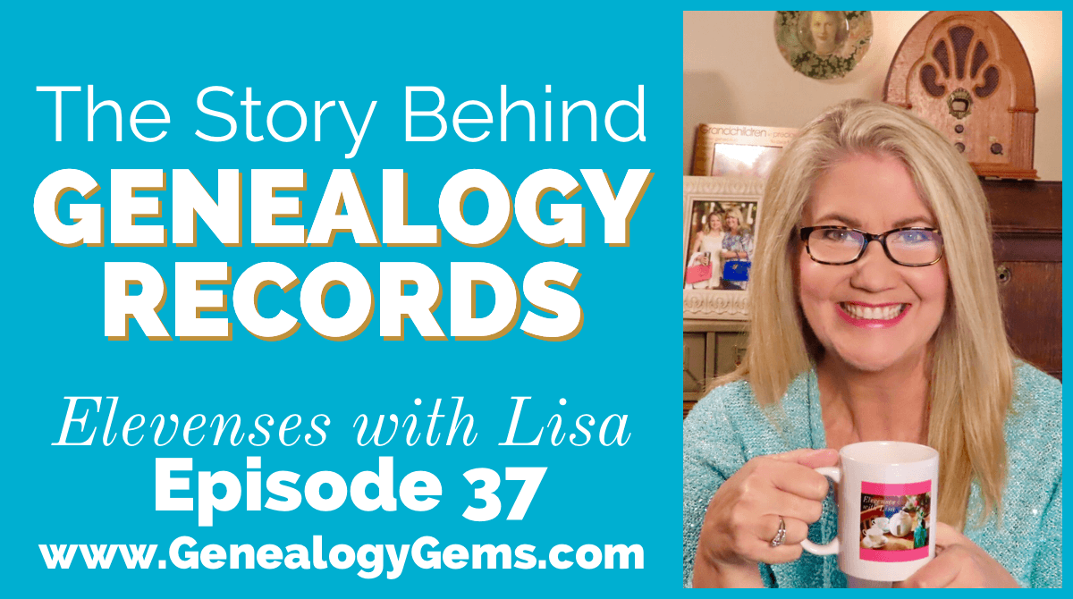 Genealogy Records Provenance Elevenses with Lisa