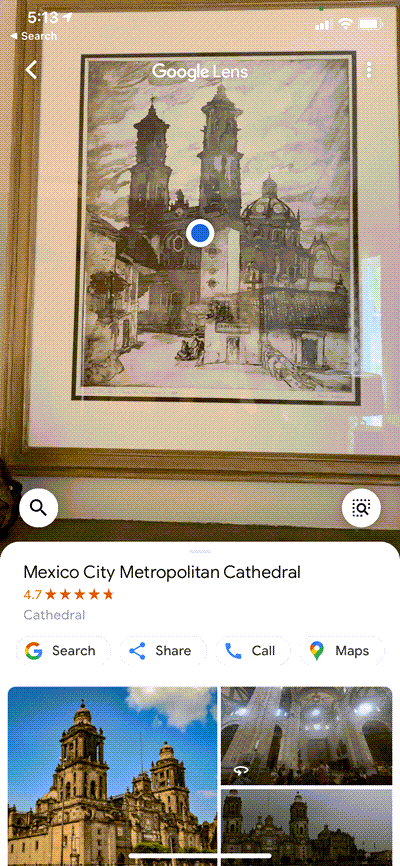Using Google Lens to identify a family heirloom