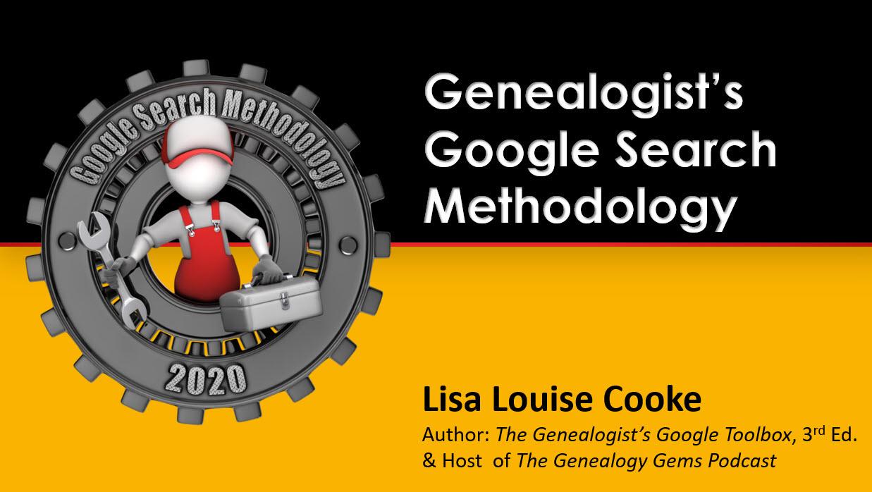 Genealogist's Google search methodology