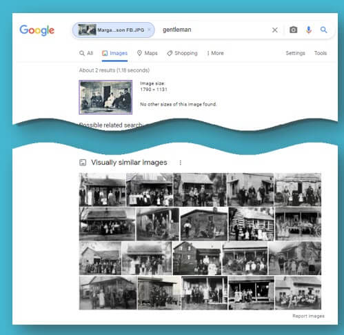 best ways to find old photos with Google