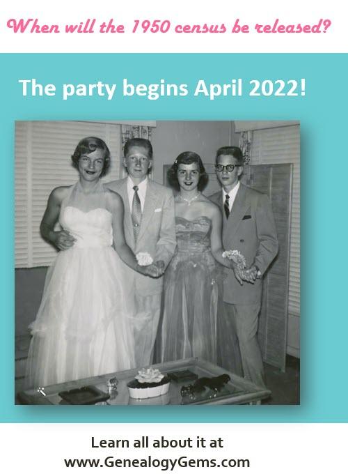1950 census release date