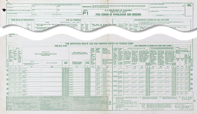 1950 census supplemental questions