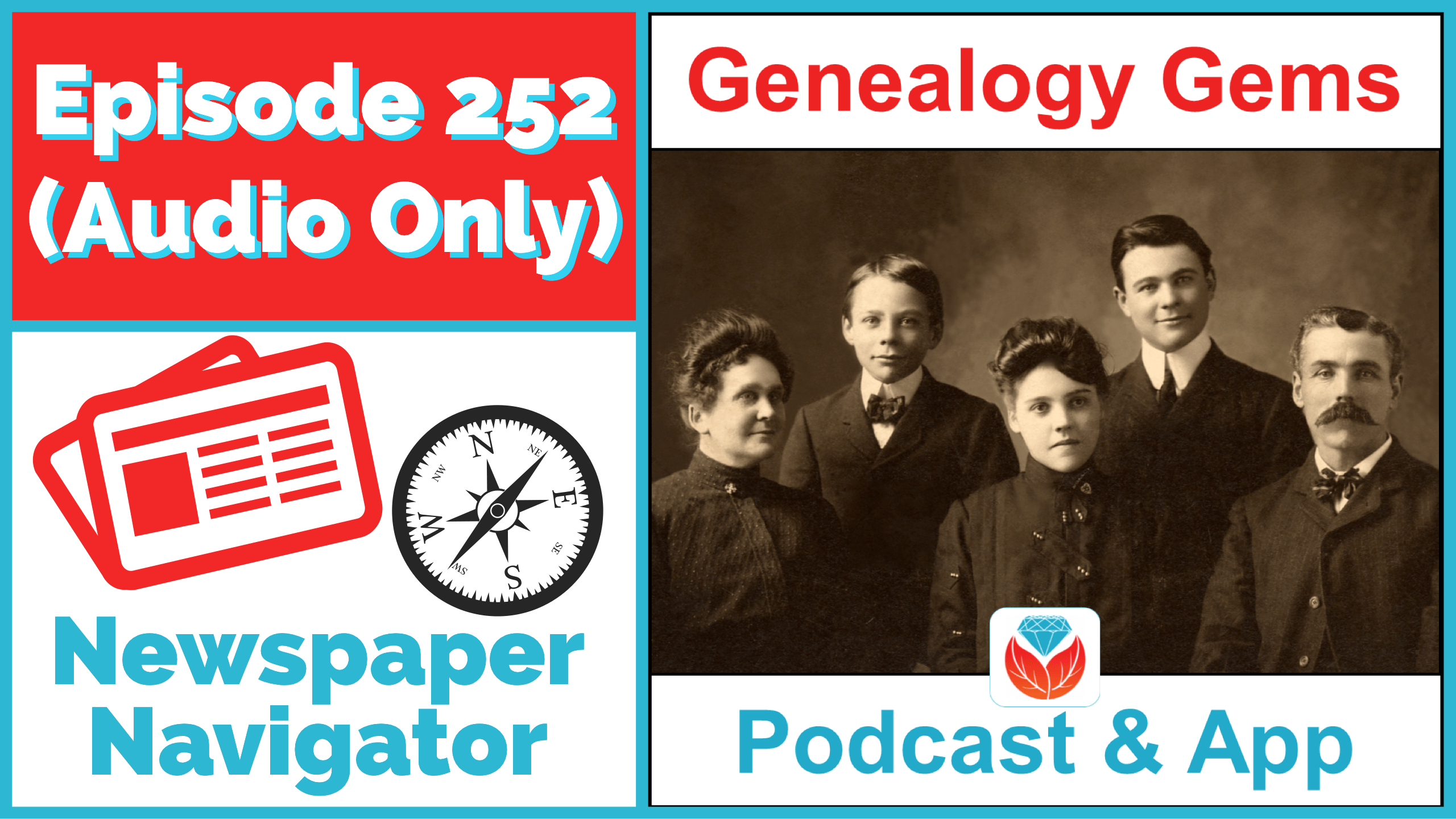 Genealogy Gems Podcast Episode 252