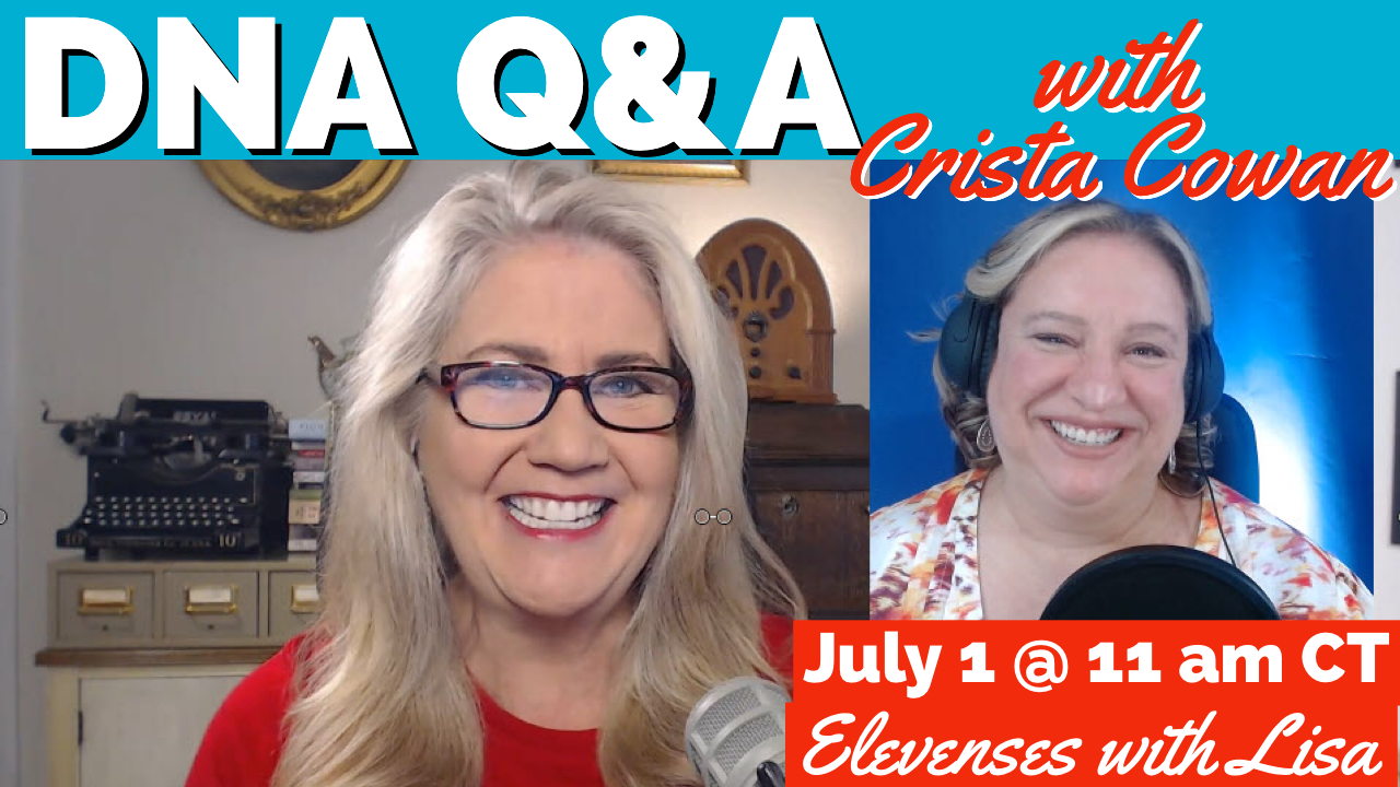 DNA Q&A with Crista Cowan of Ancestry.com