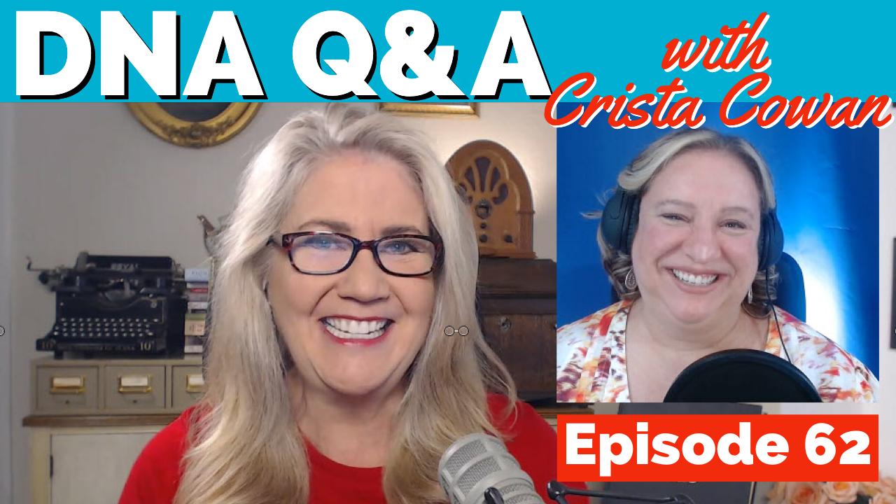 Ancestrydna Q&A with Crista Cowan