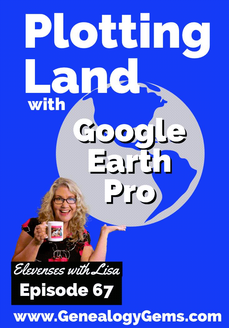 plotting land in google earth
