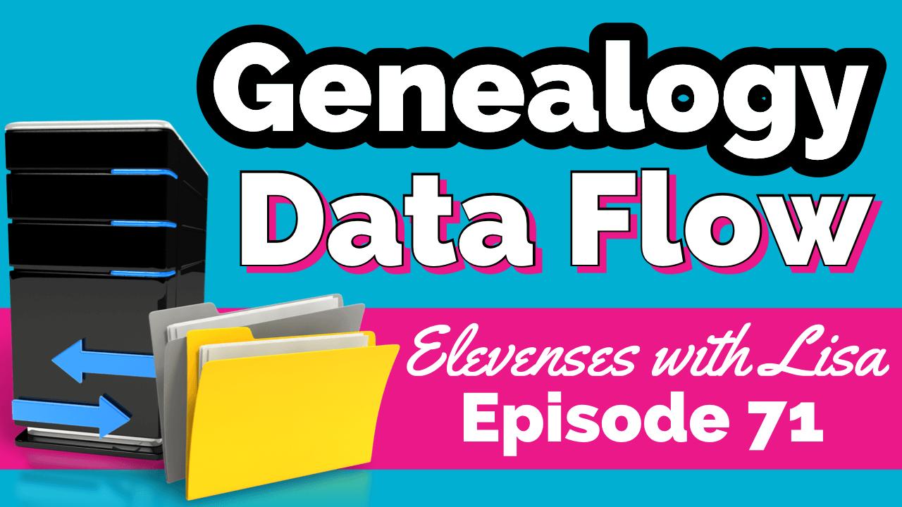 Genealogy organization workflow