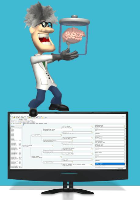 genealogy database software