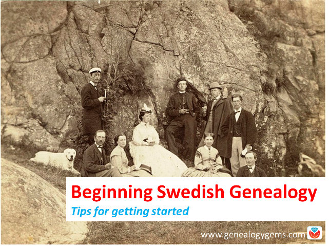 Beginning Swedish Genealogy: Tips from Legacy Tree Genealogists
