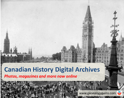 New Digital Archives for Genealogy: Canada, Oregon, Virginia