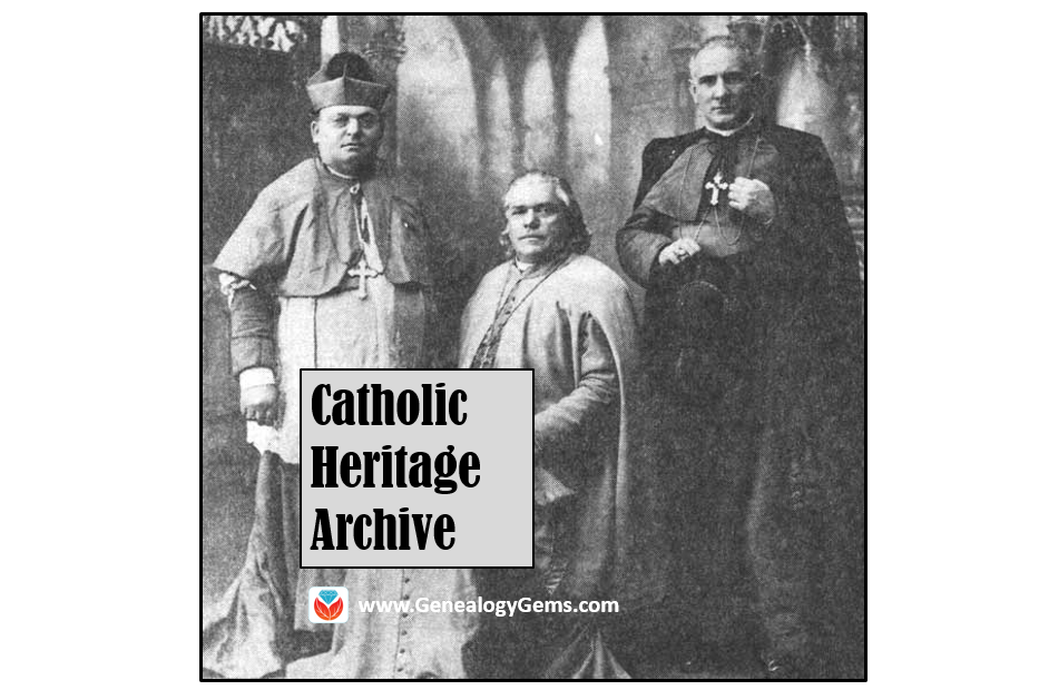 Catholic Church Records in New and Updated Genealogical Collections
