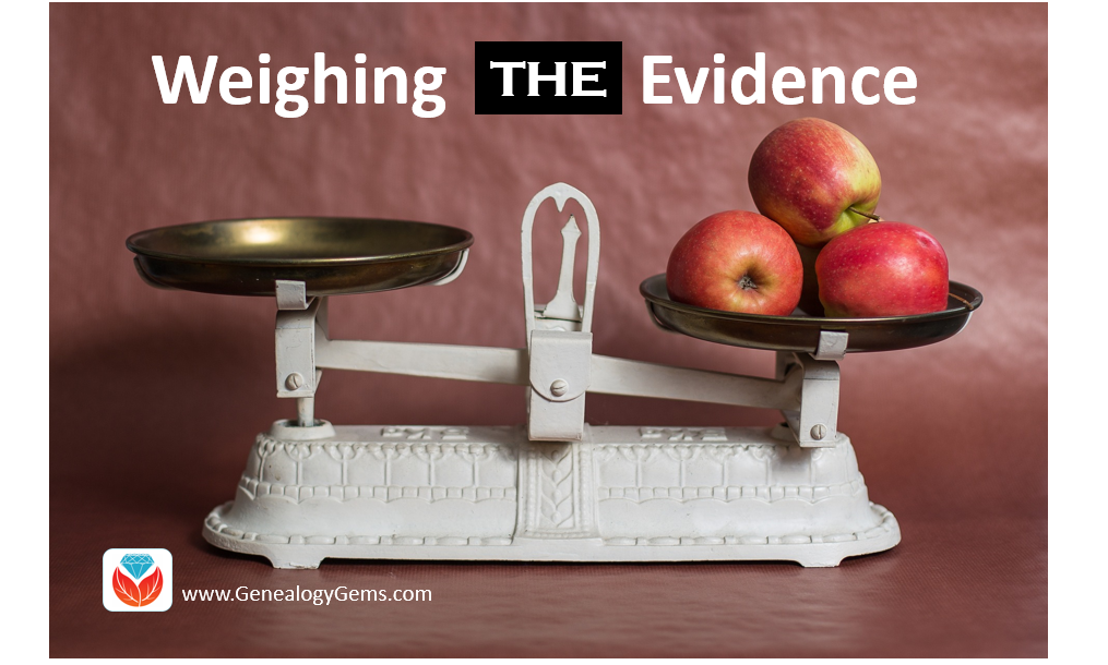 Resolving Three Common Conflicting Evidence Problems in Genealogy