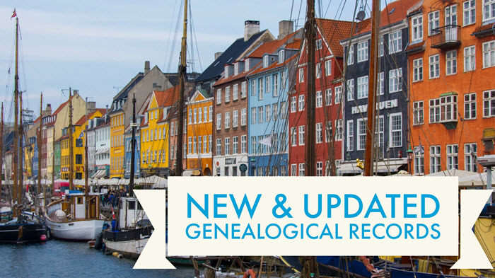 Denmark Census Records: This Week in New & Updated Genealogy Records