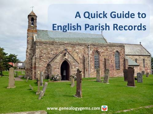 English-parish-records England parish records