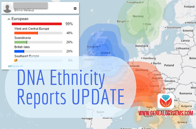 Family Tree DNA Ethnicity Report Gets an Update