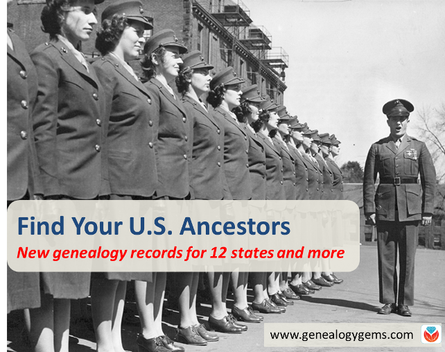 Find Your U.S. Ancestors in These New Genealogy Records Online