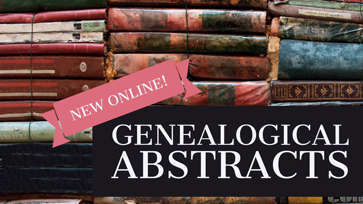 New Records Include Irish Genealogical Abstracts