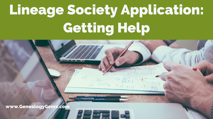 Applying to Lineage Societies: Why Hire a Pro to Help You