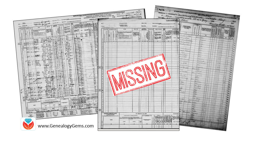 Missing Census or Missing Family: Legacy Tree Genealogists Answer