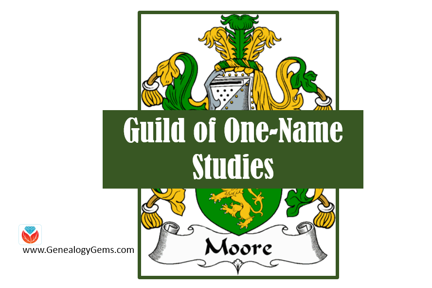 Surname Research for Free: Guild of One-Name Studies at FamilySearch.org