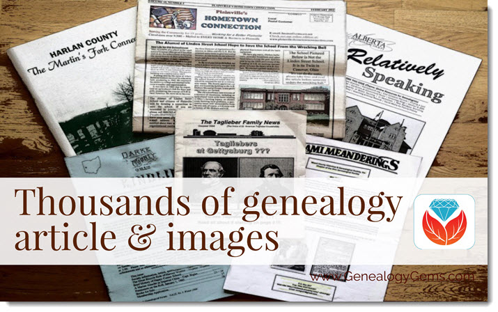 PERSI Adds Thousands of Articles: New Genealogy Records Online