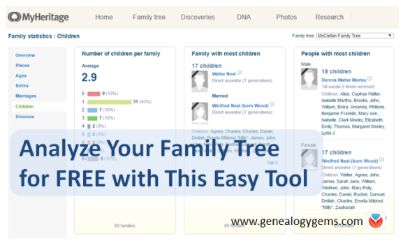 Analyze Your Family Tree for Free with This Easy Tool