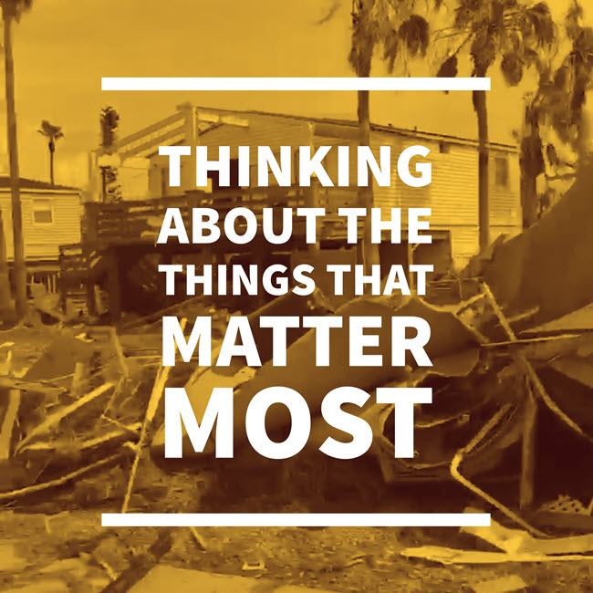 "Disaster Recovery for Genealogy: ""Think About the Things That Matter Most"""